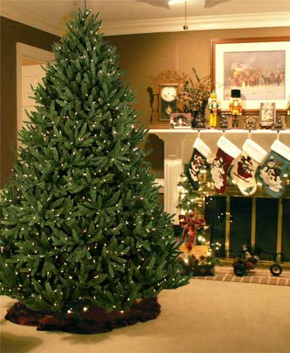 pre lit artificial christmas trees pictures - 8 Ft Christmas Tree