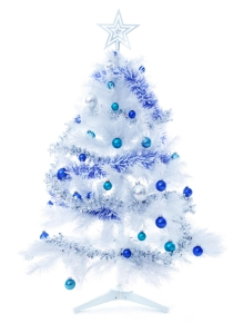 decorated christmas trees 1