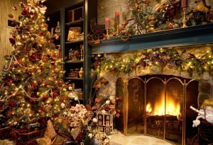 decorated christmas trees 4