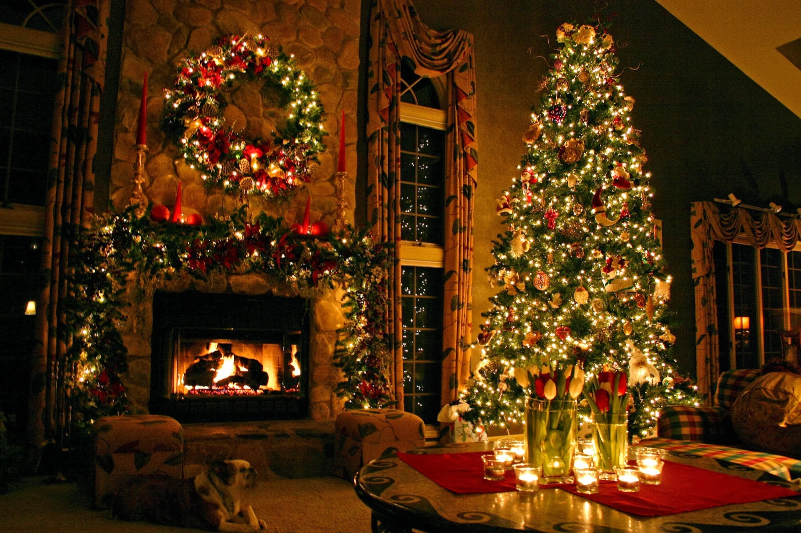 Indoor christmas tree decoration ideas christmas tree for Christmas decorations images
