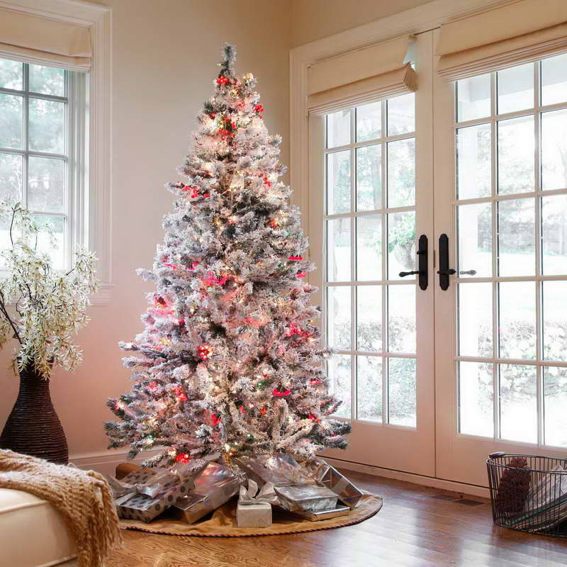 Indoor christmas tree decoration ideas christmas tree for Indoor light decoration ideas