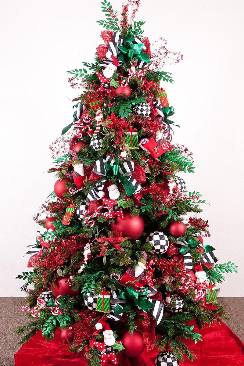 Unique Colourful Christmas Tree Idea