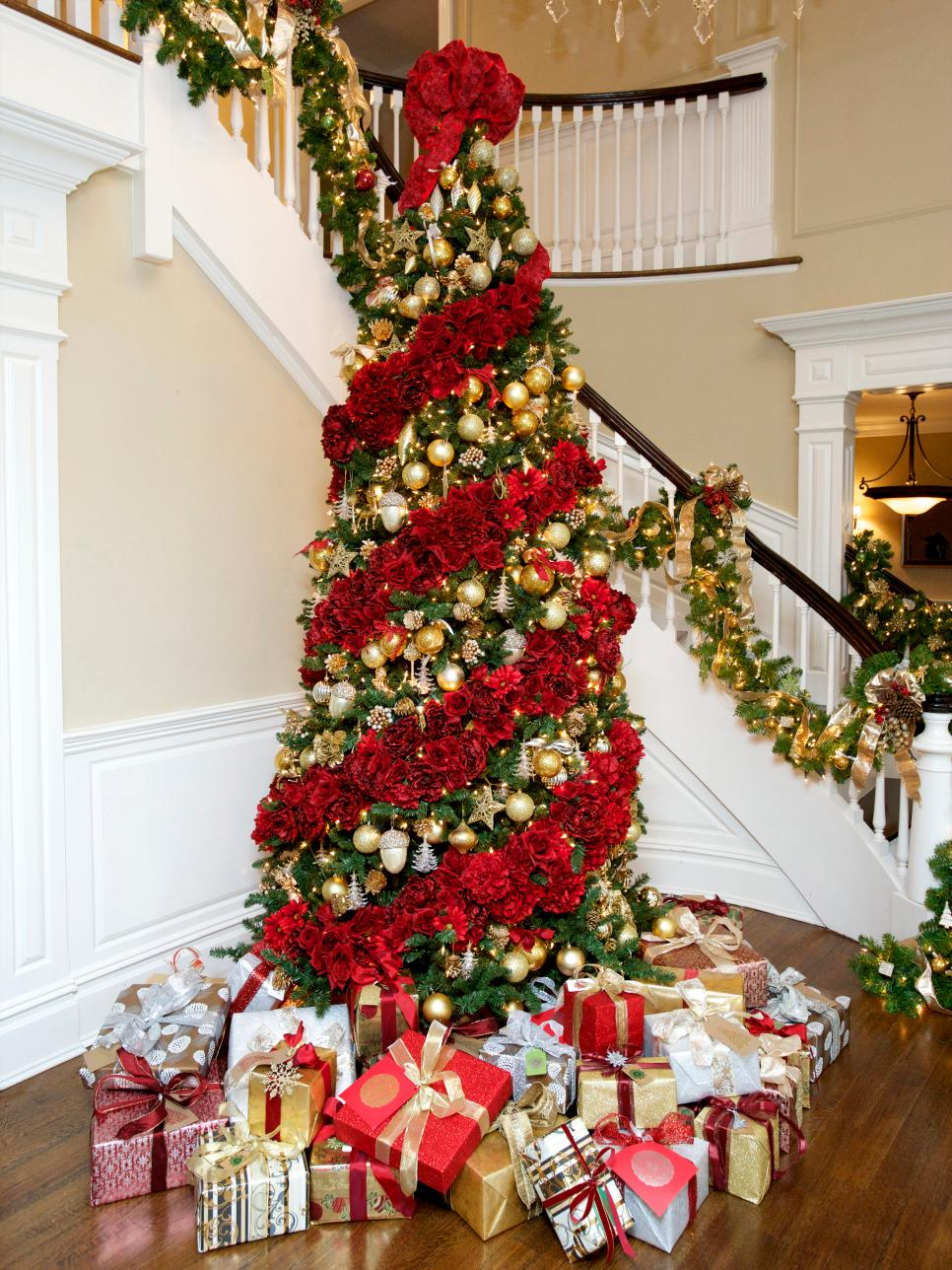 christmas tree decorating ideas pinterest - Simple Christmas Decoration Ideas