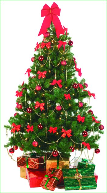 Simple christmas tree decorating ideas 2016 christmas tree - Christmas tree decoration ...